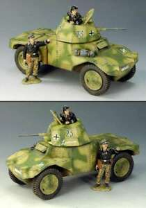 King and Country Retired WS125 German Panhard Armoured Car