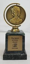 Avon 1999-2000 President's THE SPIRIT OF AVON Mrs. Albee Award Trophy RARE