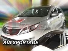 HEKO Tinted Vent Déflecteurs Set 2 pieces Kia Sportage 5 portes 2010-2015