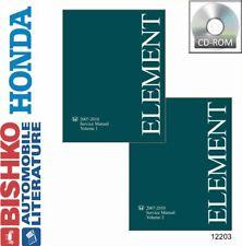 OEM Digital Repair Maintenance Shop Manual CD for Honda Element 2007-2010