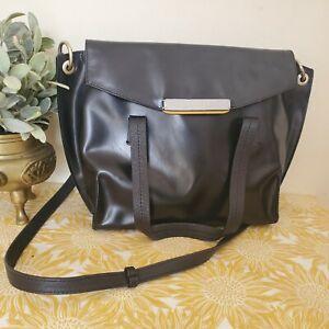 Radley Leather Tote Shoulder Bag Medium Handbag Black