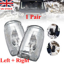For Ford Transit Mk8 Wing Mirror Indicator Lens Cover Clear LEFT&RIGHT Together