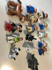 Lego Duplo minifigs disney mickey buzz toy story bullseye grandpa kids elephant