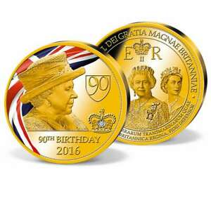 'Queen Elizabeth II - 90th Birthday' Commemorative Strike