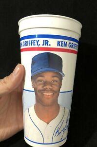 Vintage 1993 Ken Griffey Jr. Icee Baseball Plastic Cup - Seattle Mariners