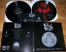 BESTIAL RAIDS Reversed LP + Pic. LP Combo  Caveman Cult  Abysmal Lord Antichrist