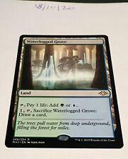 Magic the Gathering MTG Waterlogged Grove x1 Rare Card NM/M Modern Horizons