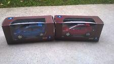 lot de 2 miniatures Norev 3 inches 1/64 Peugeot 308 avec les boites