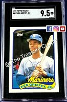 1989 Topps Traded #41T Ken Griffey Jr.Rookie - SGC 9.5 Seattle Mariners PSA BGS