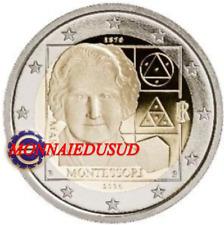 2 Euro Commémorative Italie 2020 - Maria Montessori UNC NEUVE