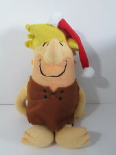 "Flintstones Barney Rubble Christmas Plush 15"" National Entertainment Network"