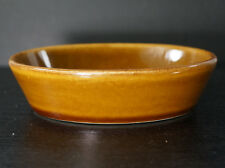 Vintage Brown Glazed Stoneware Oval Dish Cooking or Soap Dish Brush Mccoy? Early