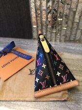 Authentic LOUIS VUITTON BERLINGOT Multicolor Coin purse Key pouch