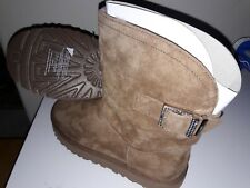 New UGG Australia Remora Buckle Bling Crystal Sheepskin Short Boot Size 10 Chest
