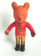 Vintage Rupert The Bear Toy - With Squeak! - Height 11 inch