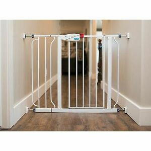 Wall Nanny™ 4-Pack Pressure Mount Baby Gate Mini-Wall Protectors in White