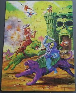 Vintage MOTU 1983 Masters Of The Universe He-Man 63 Piece Puzzle