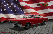 1967 Olds 442 American Muscle Print