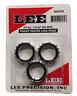 Lee Threaded Finger Tighten Self Lock Rings 7/8-14 Set 3/Pack 90534