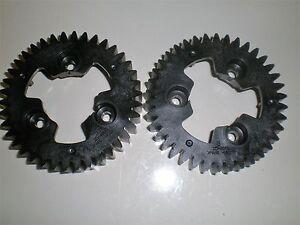 Toro Lawnmower Rear drive Wheel GEARS ONLY FITS 115-4695, 119-0321  (Set of 2)