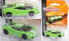 Majorette 212084009 Lamborghini Gallardo LP 560-4, grün, Nr. 5/18, RACING CARS