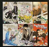 Two Flowers For The Dragon 1, 2, 3, 4, 5, 6 Graphic Novel Manga Mint CMX OOP