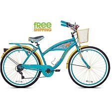 "Kent Women Cruiser Bike 26"" Beach City Comfort Commuter Riding Bicycle Blue New!"