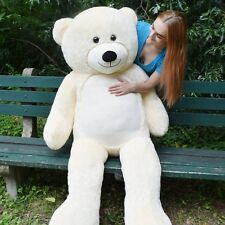 6 Ft Giant Huge Life Size Teddy Bear Stuffed Plush Animals Toy Birthday Gift 72""