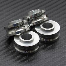 10mm Polished Spacers for Radial Brake Calipers GSXR R1 R6 ZX6R ZX10R CBR 1098