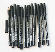 12 pcs NABI Cosmetic Eye Liner Pencil E31 BLACK GLITTER