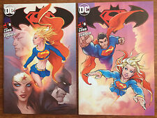 Superman / Batman #8 SDCC 2017 Michael Turner Aspen Comics Variant  Set of 2  NM