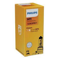 H11 Lampadine Alogena PHILIPS Faro Vision 12362PRC1 Single