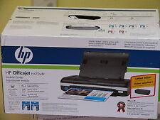 NEW HP OfficeJet H470wbt Compact Mobile Inkjet Printer H470