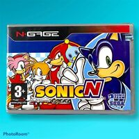 Brand New Sealed Sonic N Nokia N-Gage Game Rare One 2003
