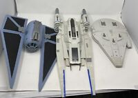 star wars rogue one tie striker Force link millennium falcon U-wing fighter lot