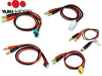 Akku-Ladekabel YUKI MODEL • Goldkontakt TAMIYA MPX EC3 EC5 EC2 XT60 BEC Kabel