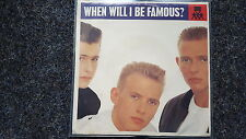 Bros - When will I be famous US 7'' Single WITH COVER