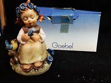 """Goebel Hummel Figurine The Botanist 351 TMK6 4 1/2"""" Tall"""