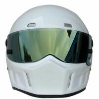 DOT Auto Race Car Racing Track Circuit Rally Kart Racetrack Full Face Helmet - L