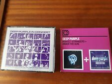 DEEP PURPLE IN CONCERT/ PERFECT STRANGERS + UNDER THE GUN CDS