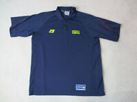 Chase Jeff Gordon Polo Shirt Adult 2XL XXL Blue Green Nascar Racing Racer Mens