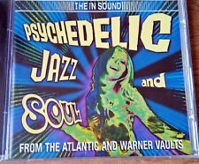The In Sound Psychedelic Jazz & Soul From the Atlantic &  Warner Vaults NEW CD