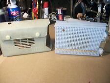 Rare HITACHI TH-667 Vintage Transistor Radio  With Case And Works