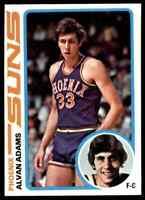 1978-79 TOPPS BASKETBALL SET BREAK ALVAN ADAMS PHOENIX SUNS #77
