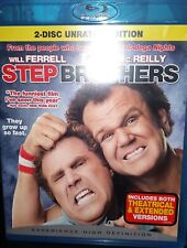 Step Brothers 2-Disc Unrated Edition Blu-ray