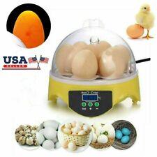 Usa! 7 Eggs Digital Automatic Hatcher Egg Incubator Poultry Chicken Bird Duck