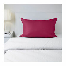 Brand New Ikea Somnig Dark Pink One1 King Size Pillowcase 20x36 Free Shipping