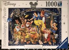 """Ravensburger Disney """"Snow White� Collector's Edition 1000 Piece Puzzle New!"""