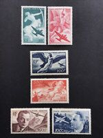 France 1940s Airmail Collection MH