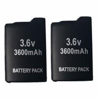 2X New 3.6V 3600mah Rechargeable Battery for Sony PSP-1001 PSP 1000